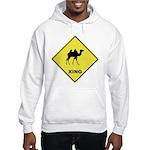 Camel Crossing Hooded Sweatshirt