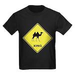 Camel Crossing Kids Dark T-Shirt