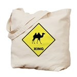 Camel Crossing Tote Bag