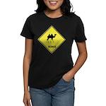 Camel Crossing Women's Dark T-Shirt