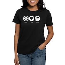 Peace Love Dolphin Tee