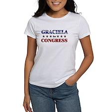 GRACIELA for congress Tee