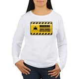 Warning Marine Engineer T-Shirt