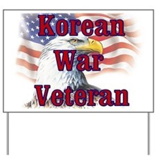 Korean War Veteran Yard Sign