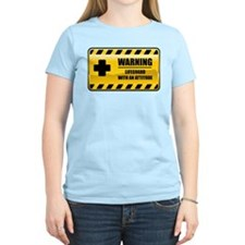 Warning Lifeguard T-Shirt