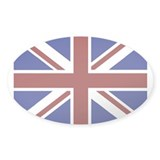 British Oval Decal