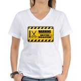 Warning Hair Stylist Shirt