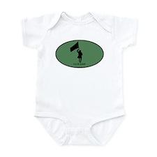 Color Guard (euro-green) Infant Bodysuit