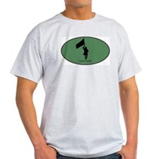 Color Guard (euro-green) T-Shirt