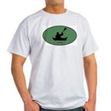 Canoeing (euro-green) T-Shirt