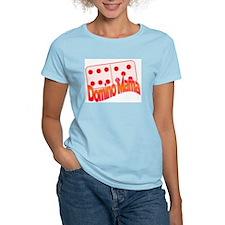 DominoMama Women's Pink T-Shirt