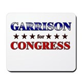 GARRISON for congress Mousepad