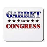 GARRET for congress Mousepad