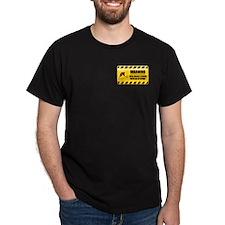 Warning Field Hockey Player T-Shirt
