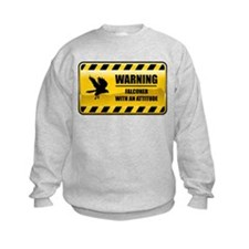 Warning Falconer Sweatshirt