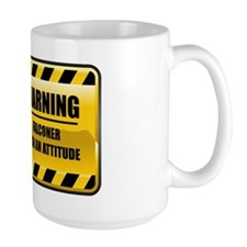 Warning Falconer Mug