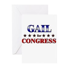 GAIL for congress Greeting Cards (Pk of 20)