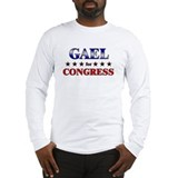 GAEL for congress Long Sleeve T-Shirt
