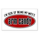 Arm Candy Rectangle Sticker
