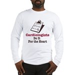 Funny Doctor Cardiologist Cardiology Long Sleeve T