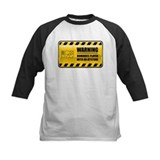 Warning Dominoes Player Tee