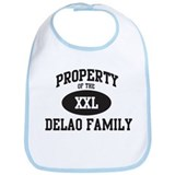 Property of Delao Family Bib