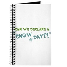 Can We Declare A Snow Day Journal