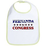 FERNANDA for congress Bib
