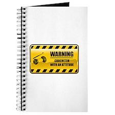 Warning Crocheter Journal