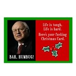 Cheney F'ing Christmas Postcards (Package of 8)