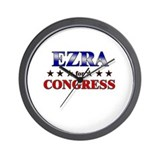 EZRA for congress Wall Clock
