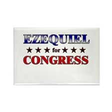 EZEQUIEL for congress Rectangle Magnet (10 pack)