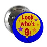9th Birthday Button