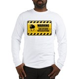 Warning Cave Explorer Long Sleeve T-Shirt