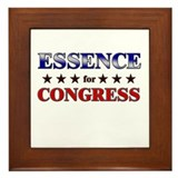 ESSENCE for congress Framed Tile