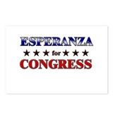 ESPERANZA for congress Postcards (Package of 8)