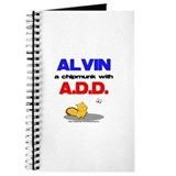 Alvin has A.D.D. Journal