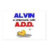 Alvin has A.D.D. Postcards (Package of 8)