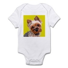 Pop Art Yorkie Infant Bodysuit