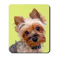 Pop Art Yorkie Mousepad