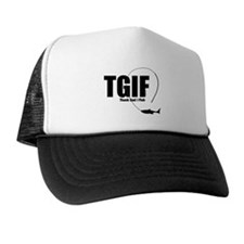 TGIF Fishing Trucker Hat