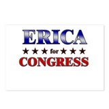 ERICA for congress Postcards (Package of 8)