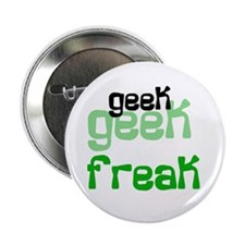 "Geek FREAK 2.25"" Button (10 pack)"