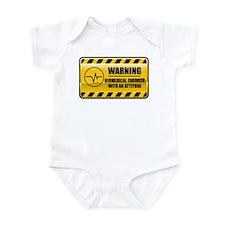 Warning Biomedical Engineer Infant Bodysuit