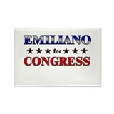 EMILIANO for congress Rectangle Magnet (10 pack)