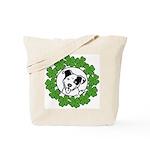 St Patty's Poppy Tote Bag