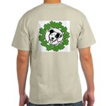 St Patty's Poppy Ash Grey T-Shirt