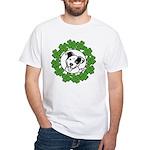 St Patty's Poppy White T-Shirt