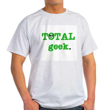 Total Geek Ash Grey T-Shirt