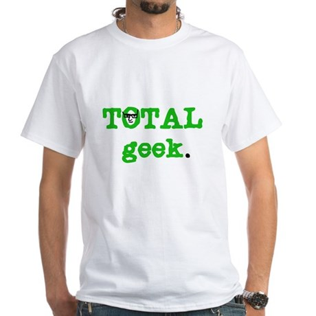Total Geek White T-Shirt